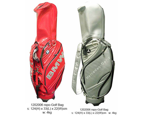 Souvenir corporate gifts premium gifts for Mercedes benz golf bag