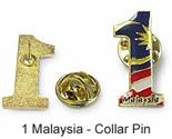 1 Malaysia Collar Pin