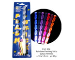 Flashing Light Stick - Disco Flower 18cm