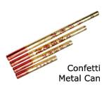 Confetti Metal Can