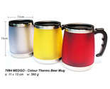 Colour Thermo Beer Mug