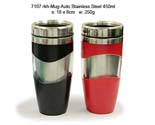 Mug Auto Stainless Steel 450ml