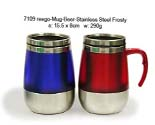 Mug Beer - Stainless Steel Frosty