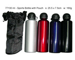 Sports Bottle with Pouch
