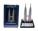 "Twin Towers Miniature 7.5"" - Clock"