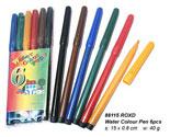 Water Colour Pen - 6pcs (15cm)