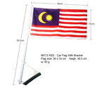 Car Flag with Bracket