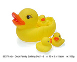 Duck Family Bathing Set