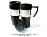 Car long mug with handle 013 14oz