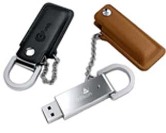 Leather USB Flash Drive-1704000- ZX70