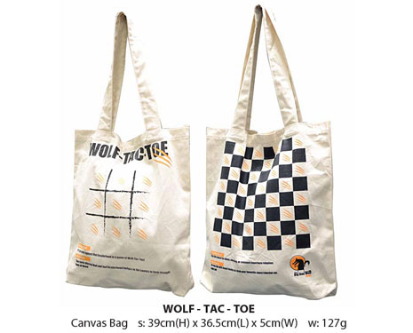 Canvas Bag (Wolf Tag)