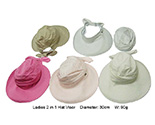 2 in 1 Ladies Hat & Visor