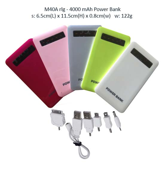 M40A Power Bank