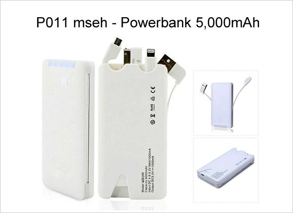 Powerbank P011 (5,000mAh)