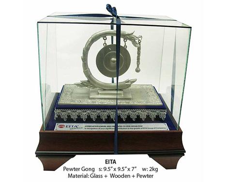 Pewter Gong