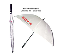 Umbrella 30 Inches-Silver Top