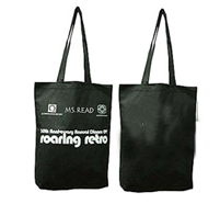 Non Woven Bag-Black-Ms Read