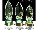 1801005 Crystal Golf Trophy