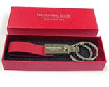 88352 rzh-Keychain Brass Leather-bv-Prudential-90316